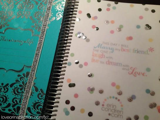 Chris, I have the Erin Condren Life Planner and it is AWESOME! She also makes wedding planners. Erin Condren Wedding Planner Review | See post @ loveorinspiration.com #LIblog