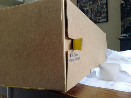 Selfridges online delivery packaging