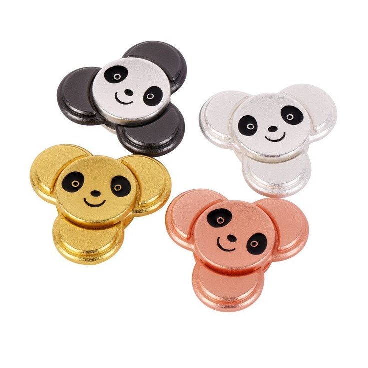 Panda anxiety animal Fidget EDC spinner