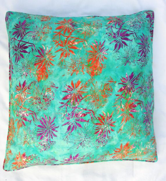 batik tie dye colourful cushion covers by fruityfern on. Black Bedroom Furniture Sets. Home Design Ideas