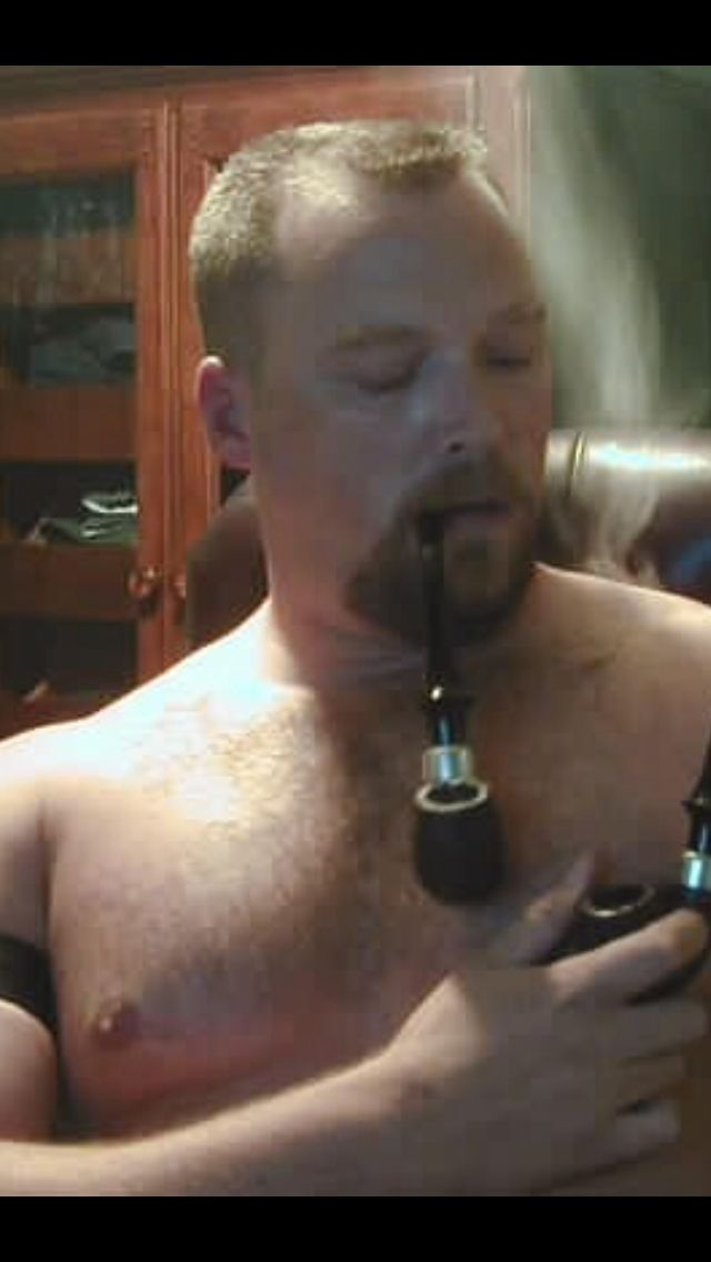 Gay cigar and pipe fetish
