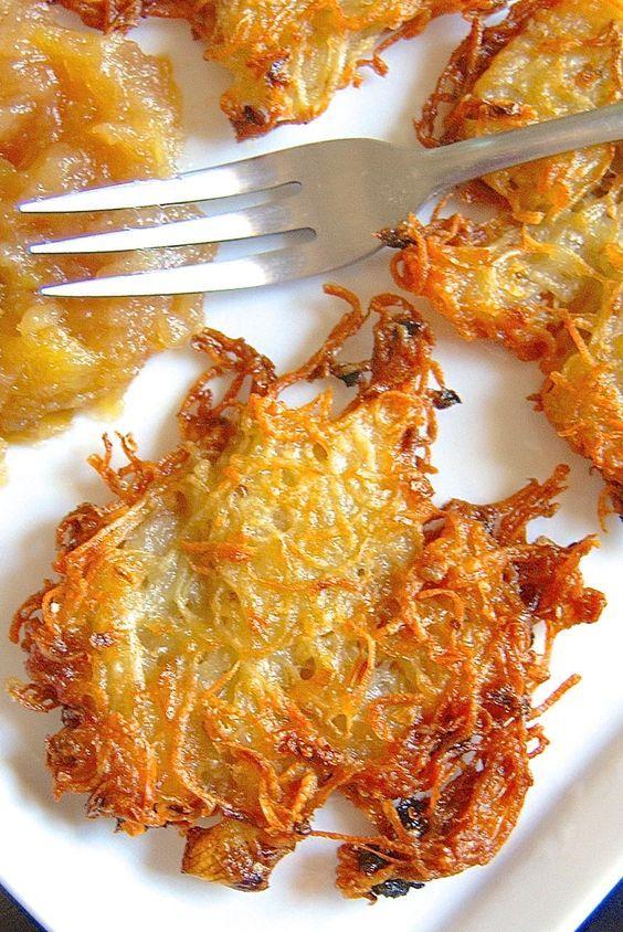 Easy-Does-It Latkes Recipe or oven-fried potato pancakes