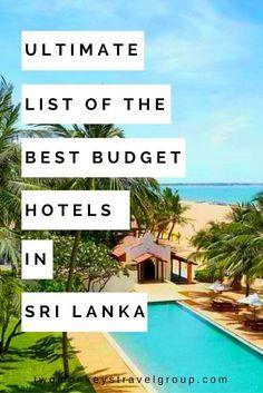 Ultimate List of the Best Budget Hotels in Sri Lanka