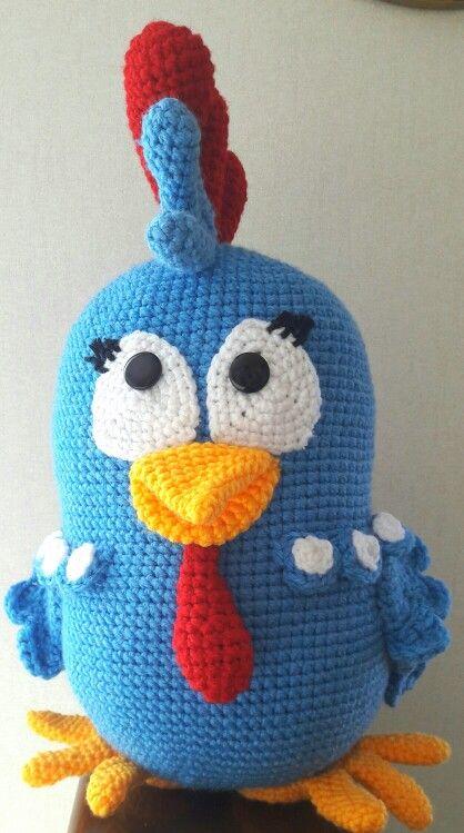 Gallina pintadita crochet.   Galinha pintadinha crochet.  #amigurumi  #ganchillo  #crochet  #GallinaPintadita