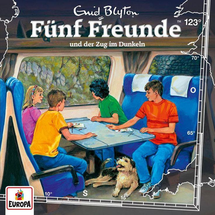 123/und der Zug im Dunkeln by Fünf Freunde
