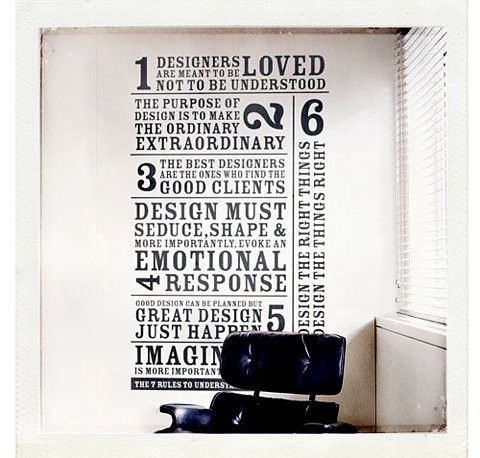 all about design...