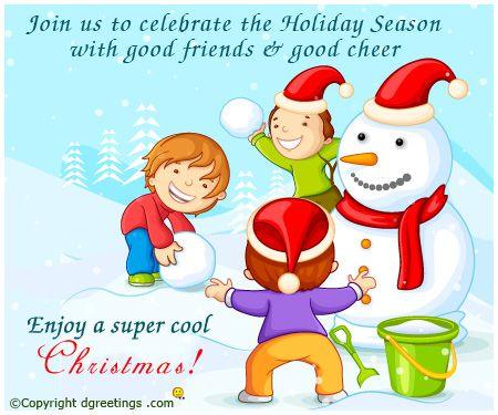 Dgreetings - Christmas Snowman Card