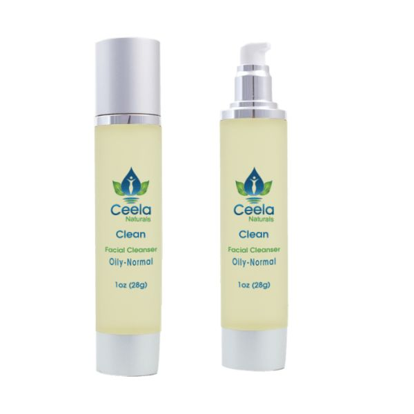 Clean (Facial Cleanser) Oily-Normal Skin • Ceela Naturals
