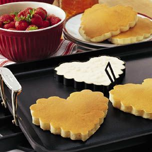 Can you use cookie cutters to shape pancakes recipes