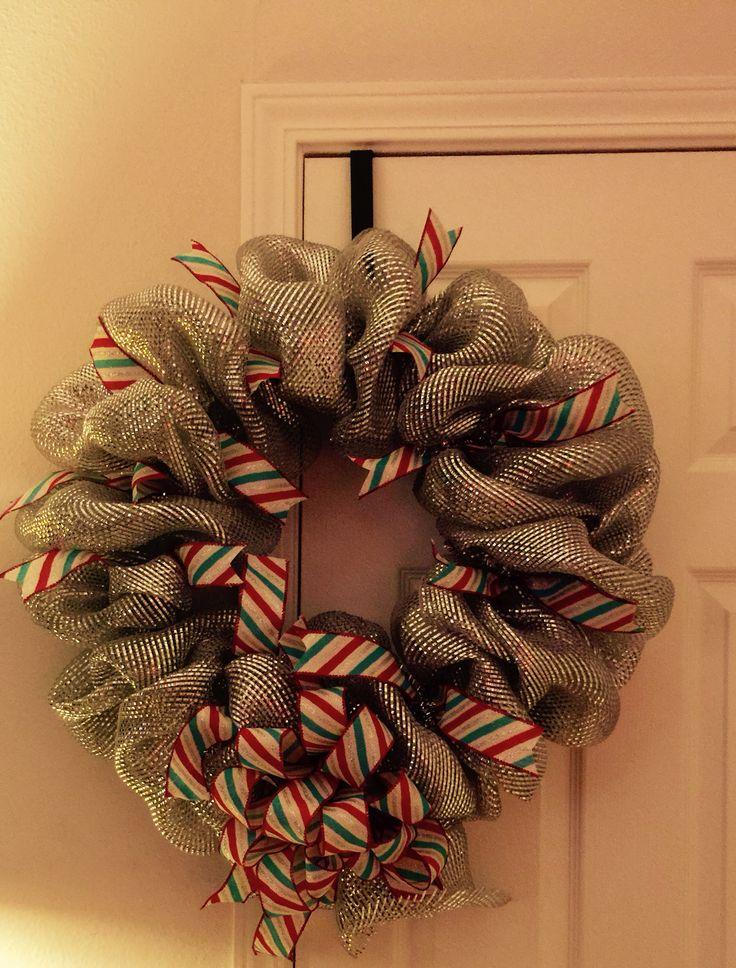 Wreath Love Silver Belleu0027s wreath Custom creation