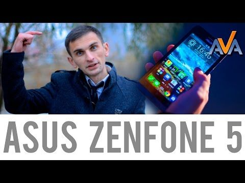 Обзор смартфона Asus Zenfone 5 от AVA.ua - YouTube