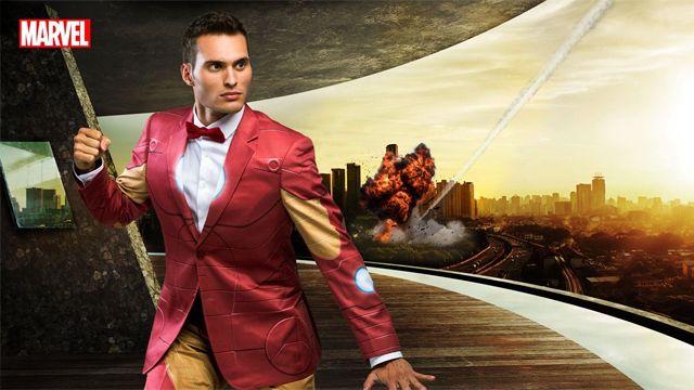 Se el nerd más elegante de la oficina con ¡los trajes oficiales de DC y Marvel!