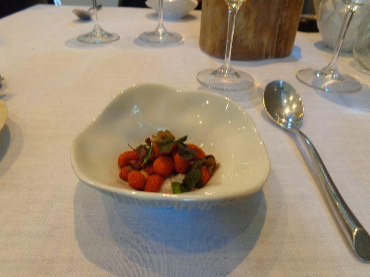 Whey. Sorrel. Wild Strawberry @ Restaurant Atelier Amaro