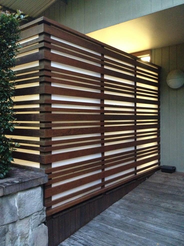 Backlit Timber Slats Byron Studio Amp Shed Pinterest