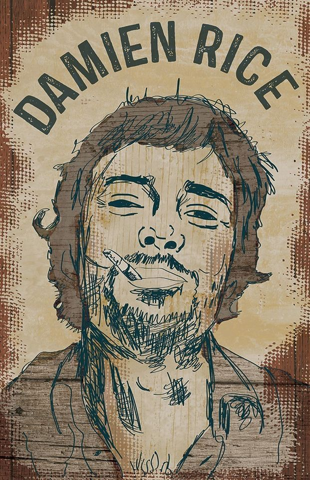 Damien Rice Poster Limited Edition of 100