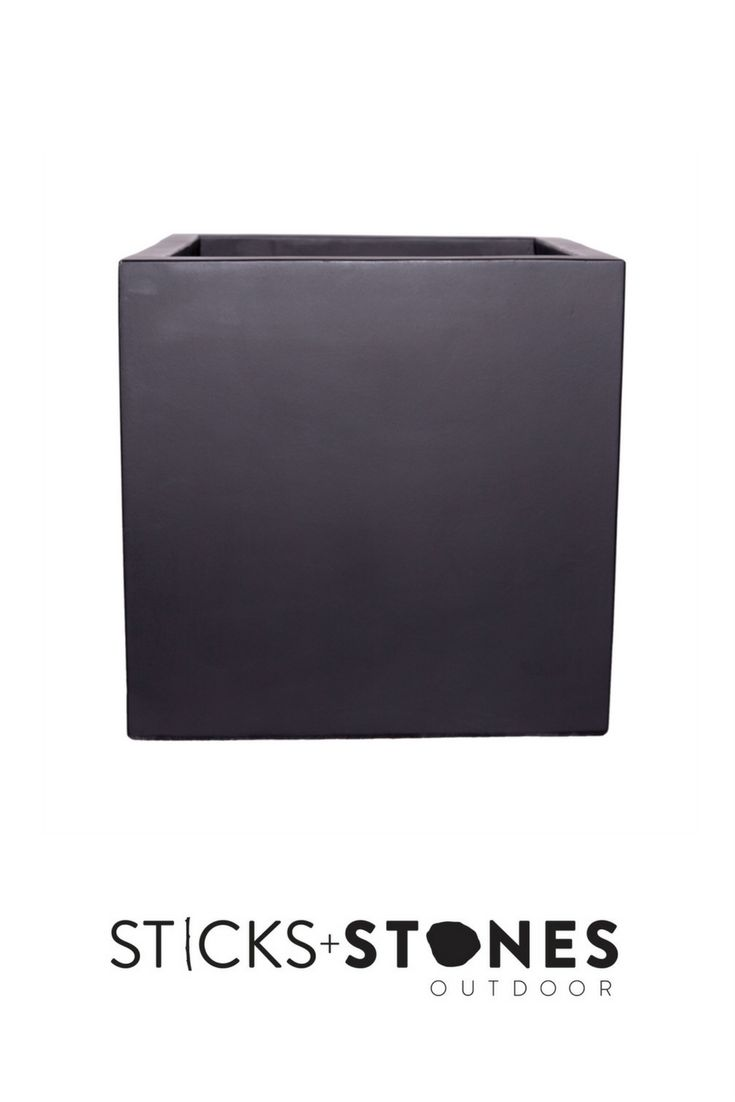 With a beautiful hand painted design, our Cube Planter is perfect for any indoor/outdoor landscape. It comes in small, medium, large and x large sizes and stylish colours such as Concrete Grey and Matte Black. At Sticks + Stones Outdoor, we travel the globe to source the most stunning, affordable, practical and stylish items to help you create your own beautiful outdoor space. #outdoordecor #homestyling #homeideas #pots #pottery