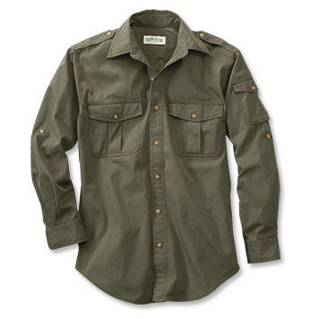 Just found this Safari Shirts for Men - Bush Shirt -- Orvis UK on Orvis.com!