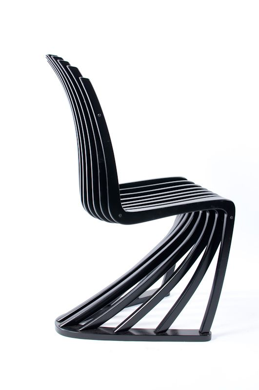 Simpe Minimalist Stripe Chair Design Pictures Images Stripe Chair Design by Joachim King