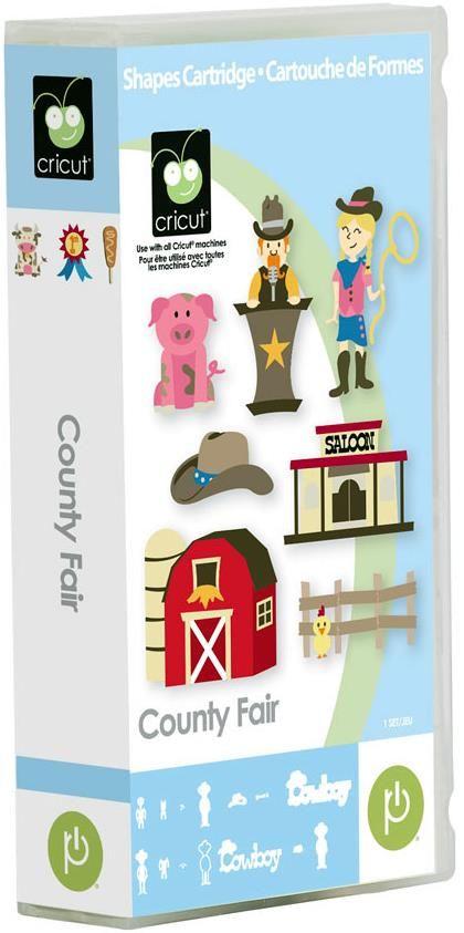 County Fair Cricut Cartridge