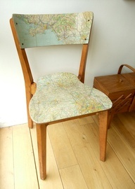 Decoupage chair!
