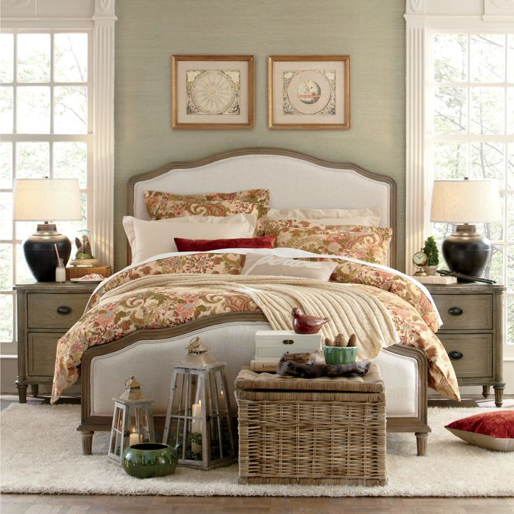 Watson Upholstered Panel Bed 146 best Sweet