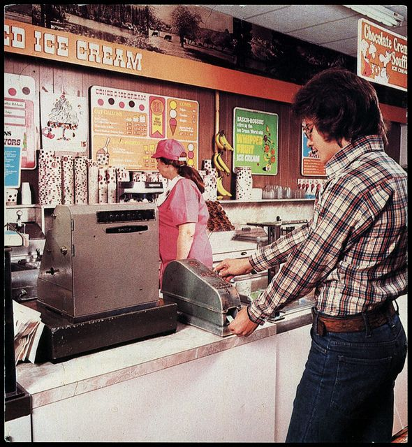 Baskin Robbins Ice Cream  1978