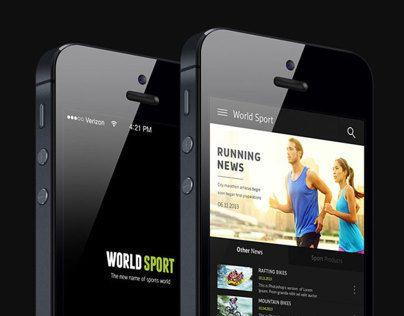 Sports World iPhone app