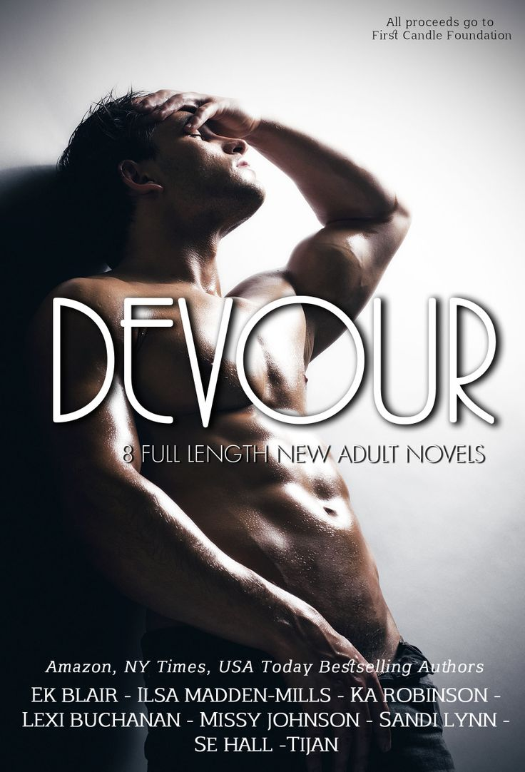 Devour Anthology An anthology featuring 8 full length published novels from Amazon, NY Times and LA Times bestselling authors: Fading by E.K. Blair Very Bad Things by Ilsa Madden-Mills Shattered Ties by K.A. Robinson Sizzle by Lexi Buchanan Always You by Missy Johnson Love in Between by Sandi Lynn Emerge by S.E. Hall Fallen Crest High by Tijan