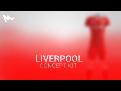 Liverpool Kit Design // Speed Art - YouTube