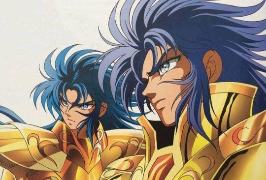 Sea Dragon Kanon and Gemini Saga