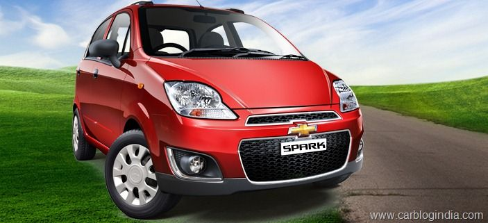 New Chevrolet Spark 2012 Launched