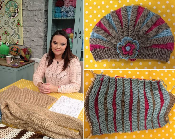 Gorro para bebe en dos tonos. Video youtube