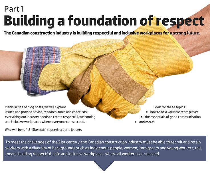 Bog focuses on building respectful and inclusive workplaces in the construction industry for workers with a diversity of backgrounds, including women, Indigenous people, young workers and immigrants.