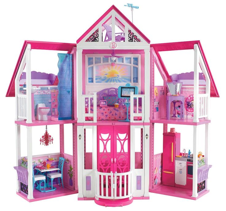 Pay a visit to Barbie's Malibu Dreamhouse! #BarbiesFavorites