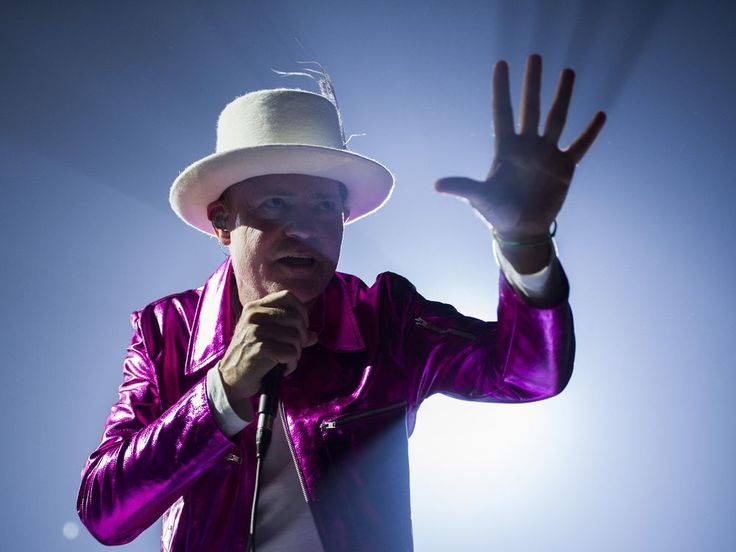 The Hip (Gord Downie), Victoria BC, July 22, 2016.