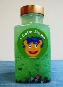 Als Pals Calm Down Sparkle Glitter Jar