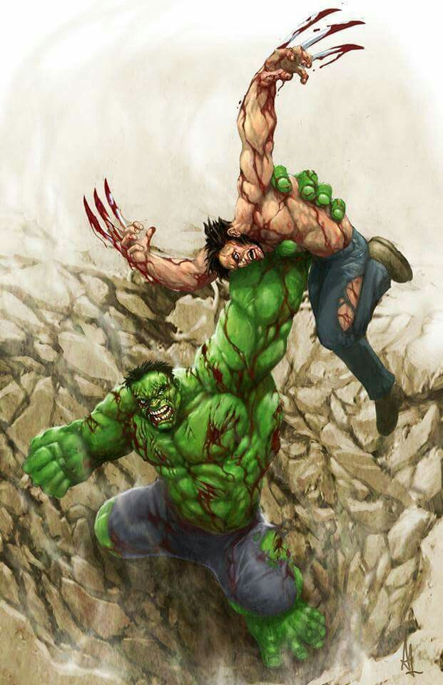 PUT AN END TO THE DEBATE!! If wolverine has his adamantium bones/claws he will eventually wear down and kill the hulk. If he has his regular bones the hulk will eventually kill wolverine