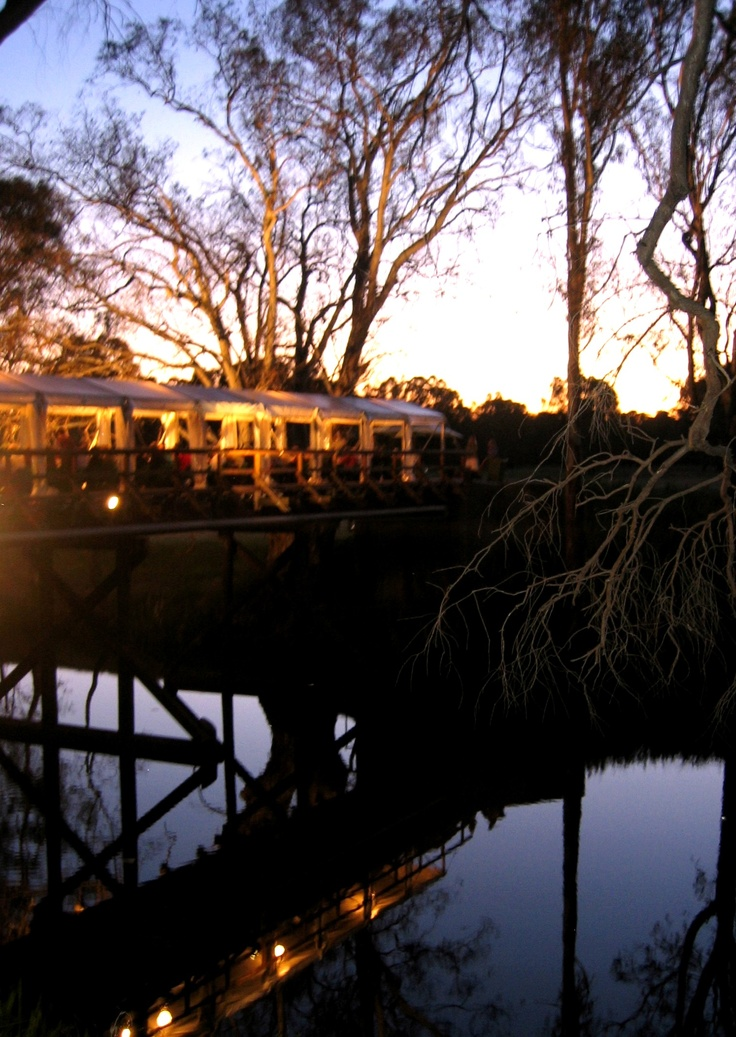 Pfeiffer Wines Sunday Creek Bridge Rutherglen Australia