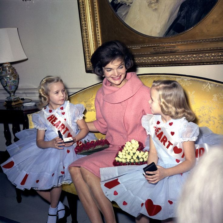 the goodwill of first lady Jacqueline Kennedy