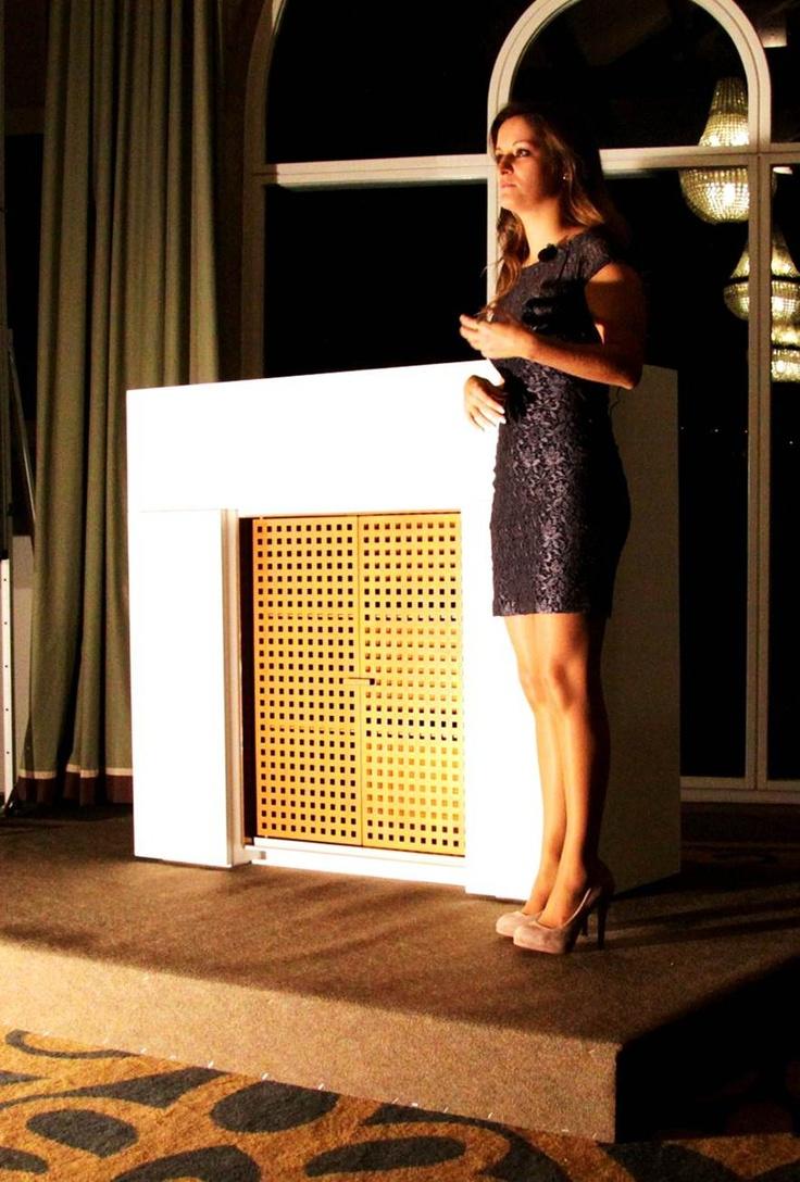 INSIDHERLAND Launch Event   Joana Santos Barbosa Founder & Creative Director at Pousada do Porto Freixo Palace Hotel. January,12 2012 #INSIDHERLAND #founder #creativedirector #launch #homeland