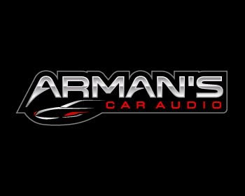 Arman's Car Audio at https://www.LogoArena.com - logo by Tony