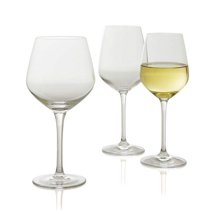 Nattie Wine Glasses    Crate and Barrel $23.96 for a set of 8