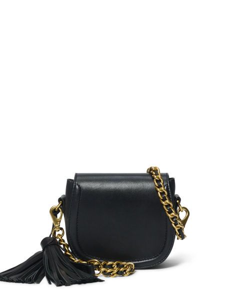 Mini Leather Cross-Body Bag - Polo Ralph Lauren Hobos & Shoulder Bags - RalphLauren.com