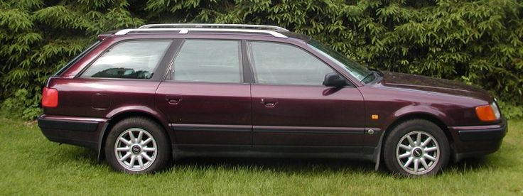 1994 Audi 100 Sedan S (2.8L V6 5-speed Manual)