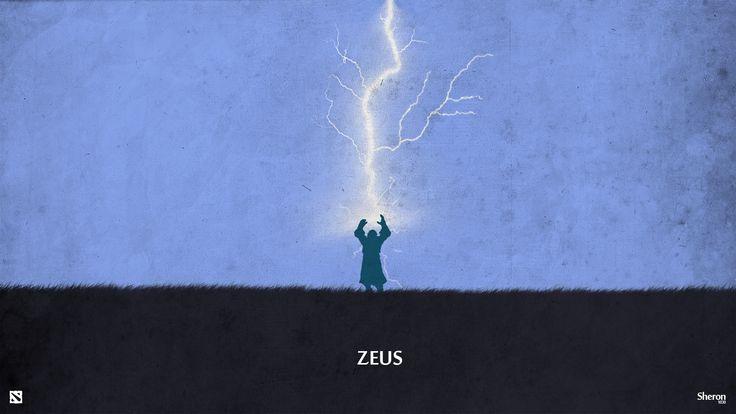 Dota 2 - Zeus Wallpaper by sheron1030.deviantart.com on @deviantART