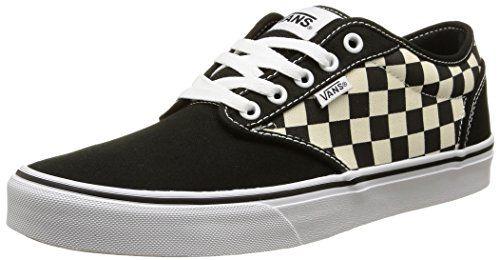 Vans Atwood, Herren Sneakers, Mehrfarbig (checkers/black/natural), 40.5 EU - http://on-line-kaufen.de/vans/40-5-eu-vans-herren-atwood-sneaker-13