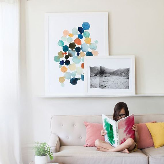 Currently loving: Minted oversized art.