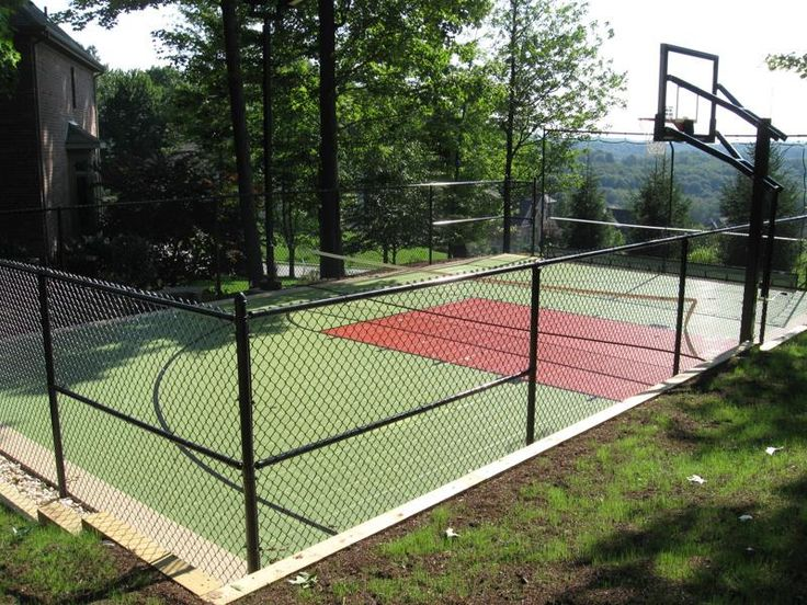 19 Best Sport Court Images On Pinterest Backyard