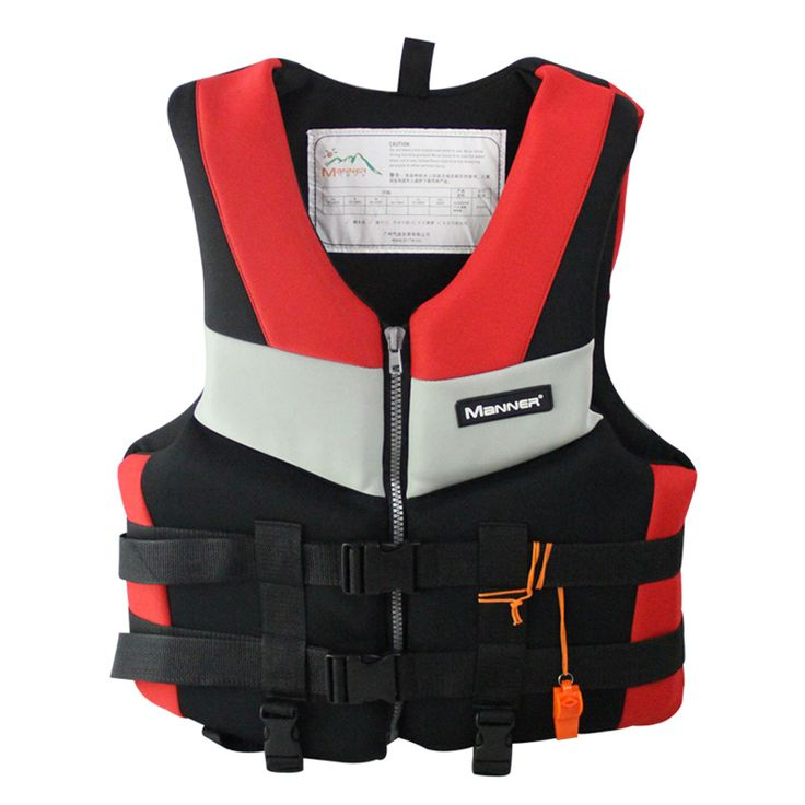 Men's Fishing Vest Adult Water Sport Safety Life Vest Foam Flotation Swimming Life Jacket Buoyancy Vest  Women Snorkeling Vest #Affiliate