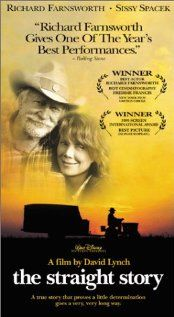 The Straight story is one of the Lynch movies that really differs from the rest of his often spooky stories. Its so slow and buitiful - the right medicin for a sunday night.